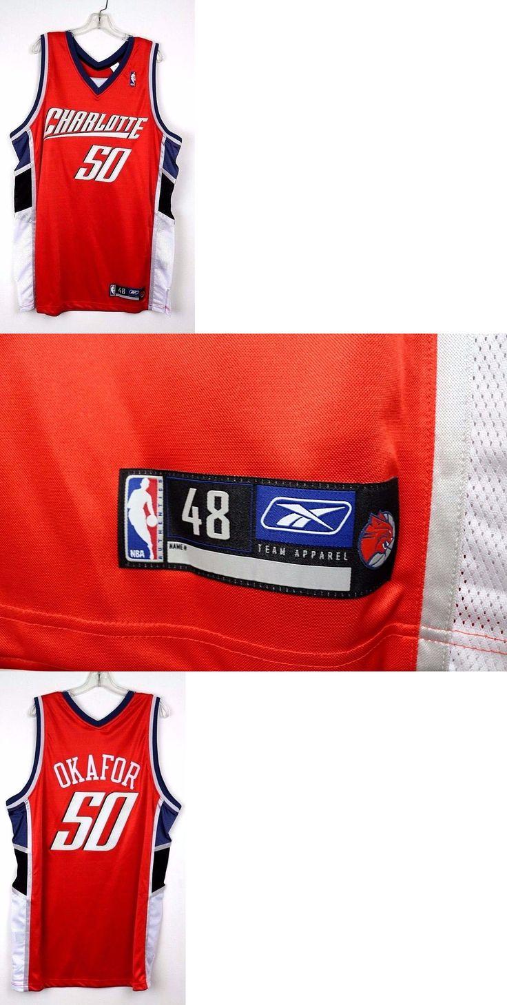 7d04d7af ... Basketball-Other 205 Charlotte Bobcats Orange 50 Emeka Okafor Reebok  Away Og Basketball Charlotte Bobcats 50 Emeka Okafor Swingman Road NBA  Jerseys ...
