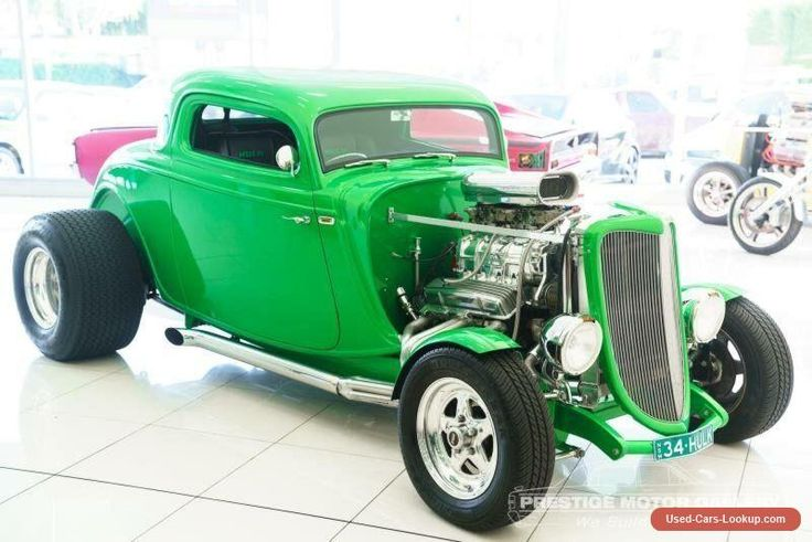 1934 Ford Hot Rod . Green Automatic A #ford #hotrod #forsale #australia