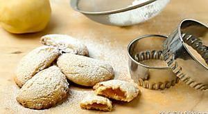 Mezzelune dolci ripiene, ricetta biscotti