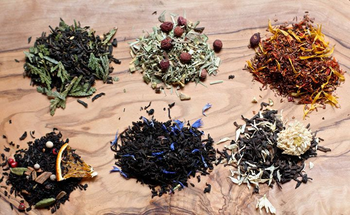 Enjoy six different herbal tea blend recipes that you can enjoy yourself or give as gifts. These will make fancy, beautiful and delicious DIY gifts.