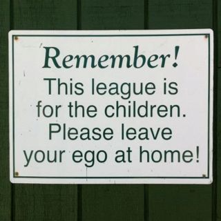 So true! Nothing personal coach..it's all about the kid and their progression