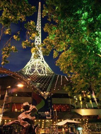 Victoria Arts Centre and Spire, Melbourne, Victoria, Australia