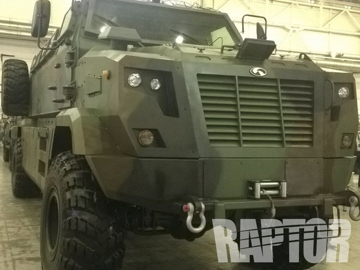 KRAZ POLICE VEHICLE: Full Overspray #raptorised