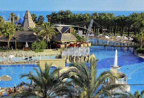 View from Aquapark #pegasosworld #aquapark #splashworld #pool #view #antalya #turkey