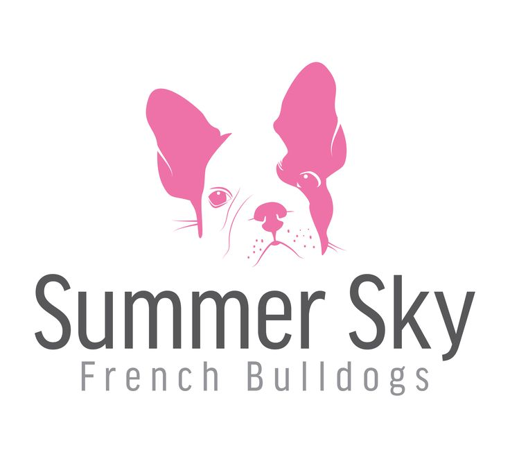Summer Sky French Bulldogs logo design by Aizer Graphic Designer