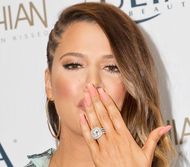 khloe kardashian wedding ring | Khloé Kardashian's engagement ring