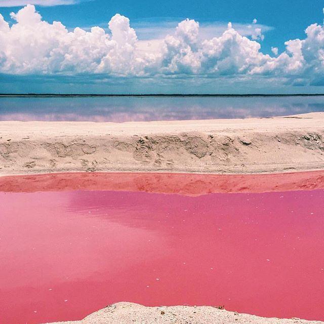 #regram @fercabrera27 Las Coloradas: 'El Mar Rosa de Yucatan'…