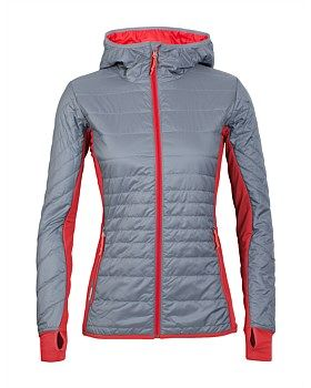 Whether you wear it under your ski shell on teeth-chattering days or over a baselayer on cold-weather hikes, the Women's Helix Long Sleeve Zip Hood provides technical, sustainable warmth when you need it most. Buy now: http://www.outsidesports.co.nz/Icebreaker/Womens_Icebreaker/Jackets/IB102598/Icebreaker-Helix-Hooded-Jacket---Women's.html#.Vtj0d_l96Uk