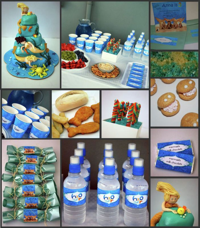1000+ Images About H2o Just Add Water Mermaid Party On