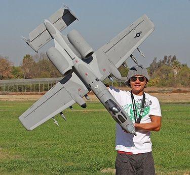 New A 10 Warthog Remote Control Electric RC Fighter Jet Plane Airplane ARF RX R   eBay