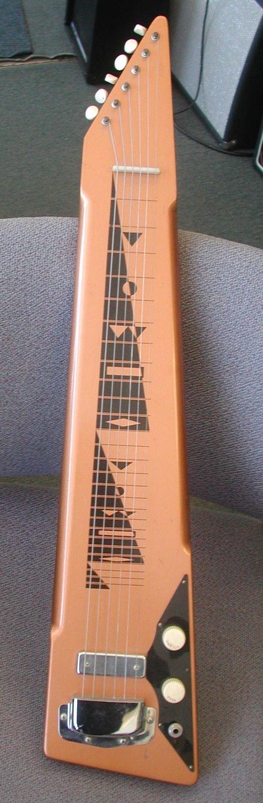 Vintage 1960 S Harmony Hawaiian Lap Steel Guitar Plays