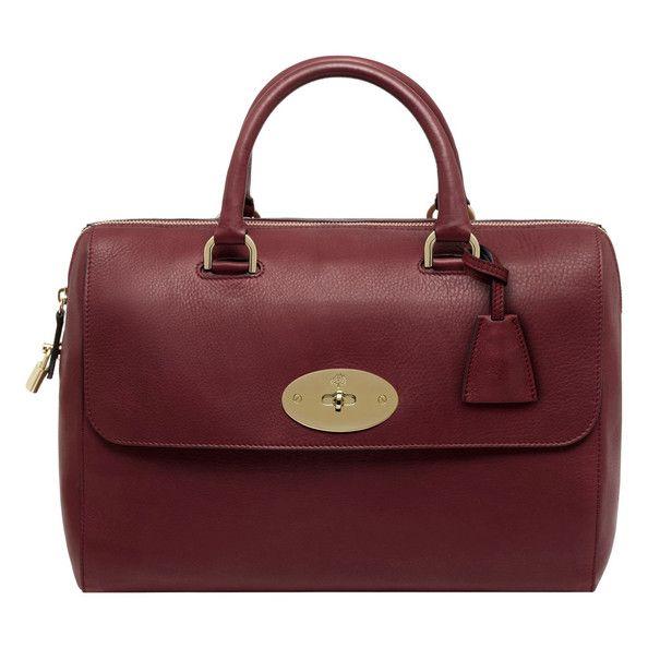 Oxblood Mulberry Handbag named for Lana Del Rey.