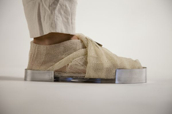 THE MOURNING SHOE by Jessica Di Nota, via Behance