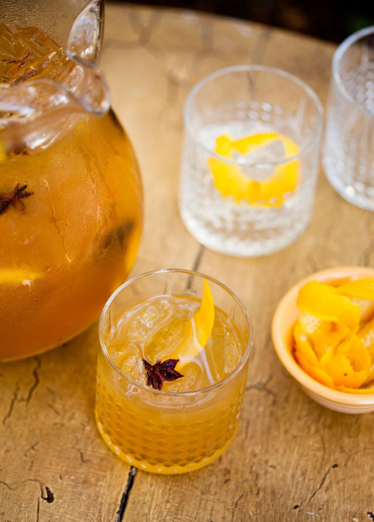 Pitcher Drink Recipe: Spiced Rye & Honey Cocktail — The 10-Minute Happy Hour