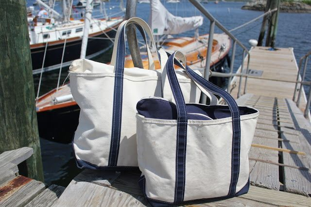 The Daily Prep: The L.L. Bean Boat and Tote Bag  How do you wash them!???