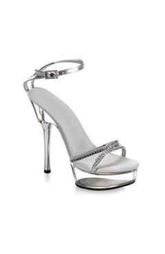 Ankle Strap Glitter Platforms Leather-like/PU #Pumps  Style Code: 06104 $58: Pumps Style, Style Codes, Platform Pumps, Leather Like Pu Pumps