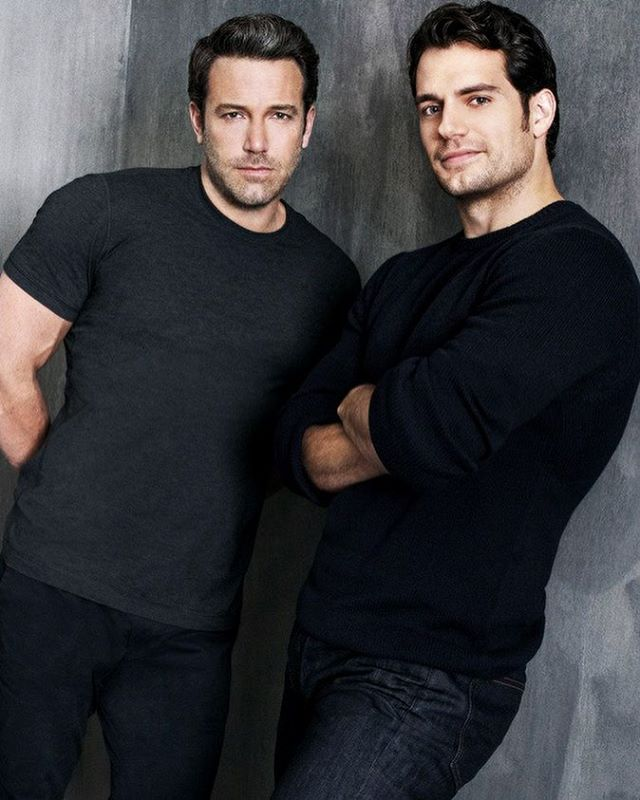 Henry Cavill with Ben Affleck for F*** Magazine.  Photo by Marc Hom…