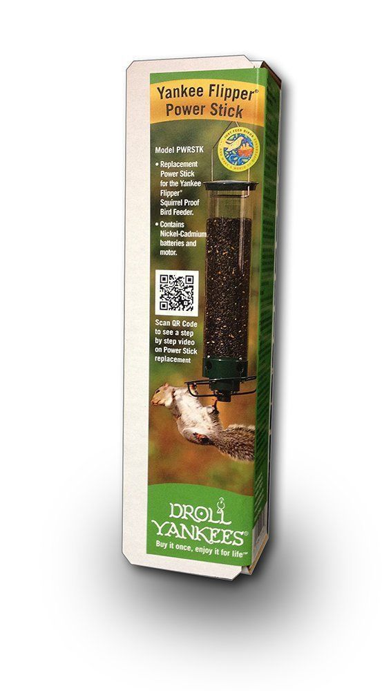 Feeders 46290: Droll Yankees Pwrstk Power Stick For Yankee Flipper Bird Feeder -> BUY IT NOW ONLY: $42.85 on eBay!