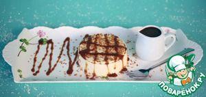 Кокосовый пудинг с карамельным соусом