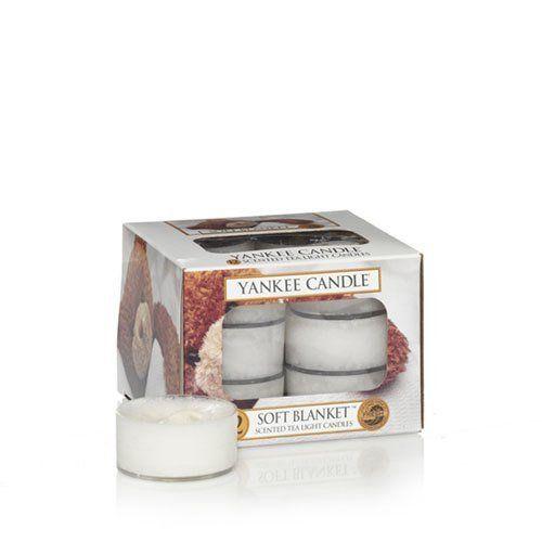 Soft Blanket Tea Lights Yankee Candle
