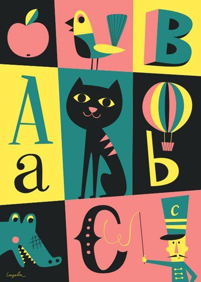 Ingela's new poster for OMM Design.
