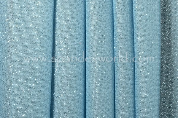 Glitter Pattern Mesh Light Blue Blue Sparkles Frozen