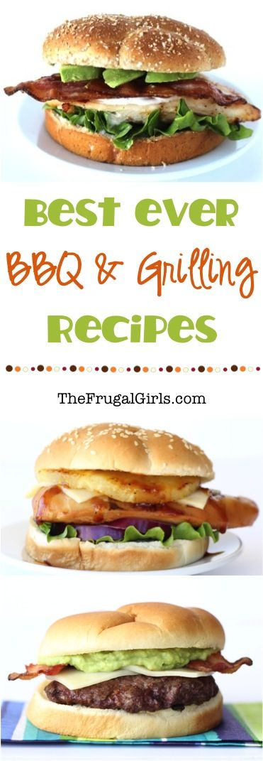 Best BBQ and Grilling Recipes! ~ from TheFrugalGirls.com ~ fire up the grill and get ready for the BEST Summer Barbecue recipes, side dishes, and desserts! #recipe #thefrugalgirls