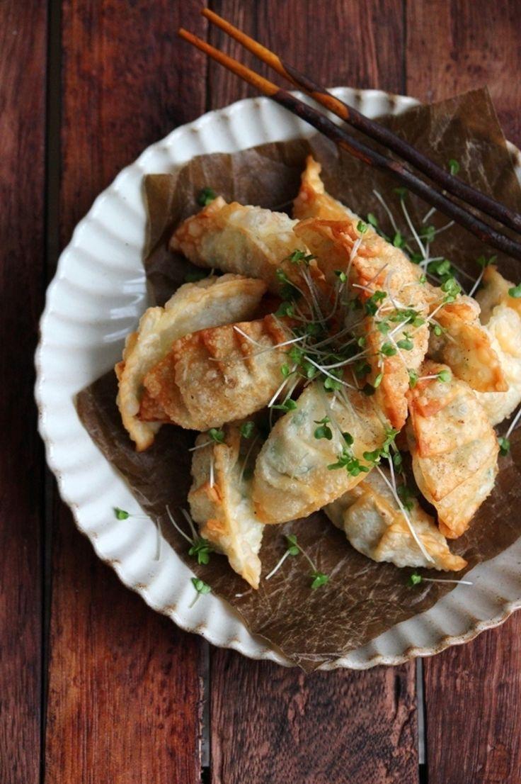 えびとチーズの揚げ餃子。 by 栁川かおり | レシピサイト「Nadia | ナディア」プロの料理を無料で検索