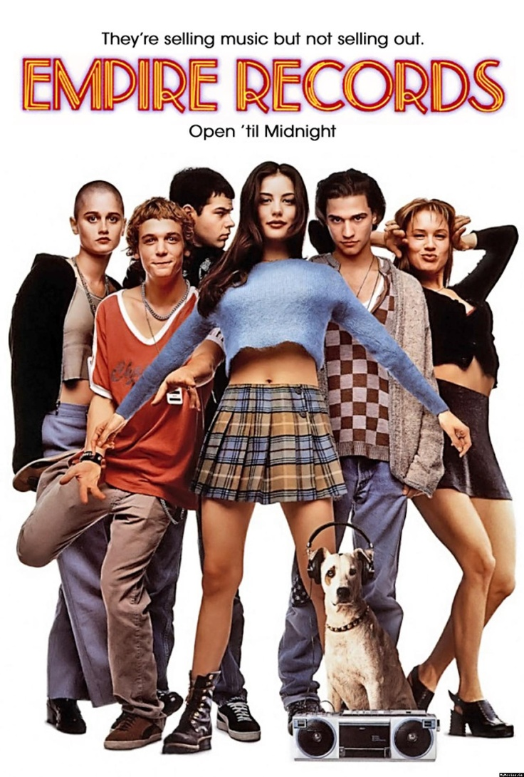 28 best tivity news images on pinterest movie movies and film posters empire records the 1995 coming of age film that follows a group of fandeluxe Choice Image