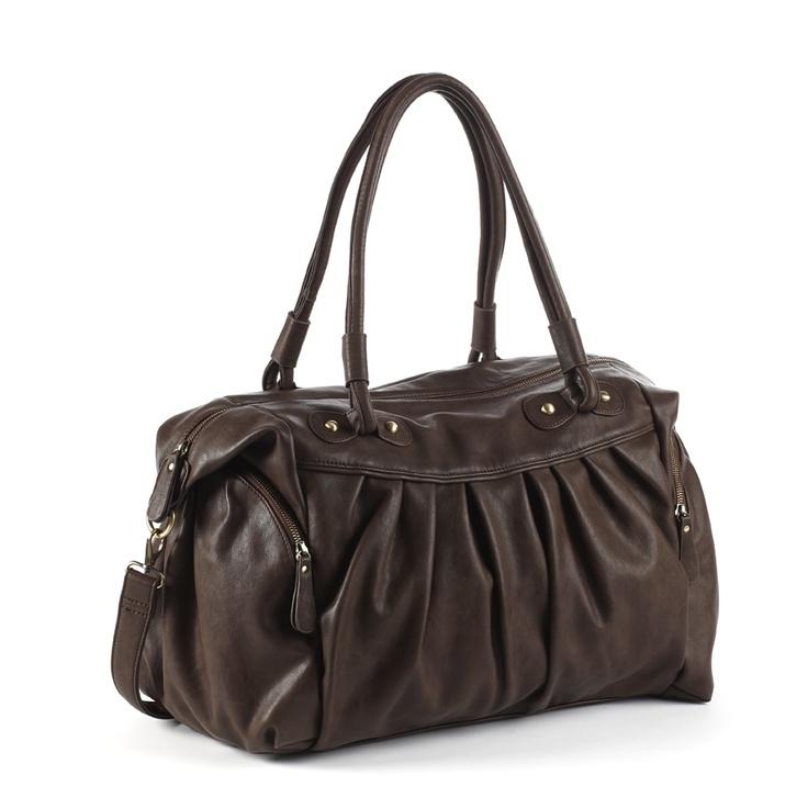 GANLY brown - changing bag  Arrives in shops mid-September