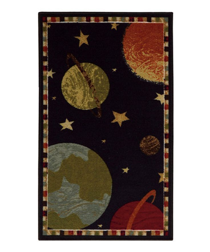 Take A Look At This Solar System Rug Today