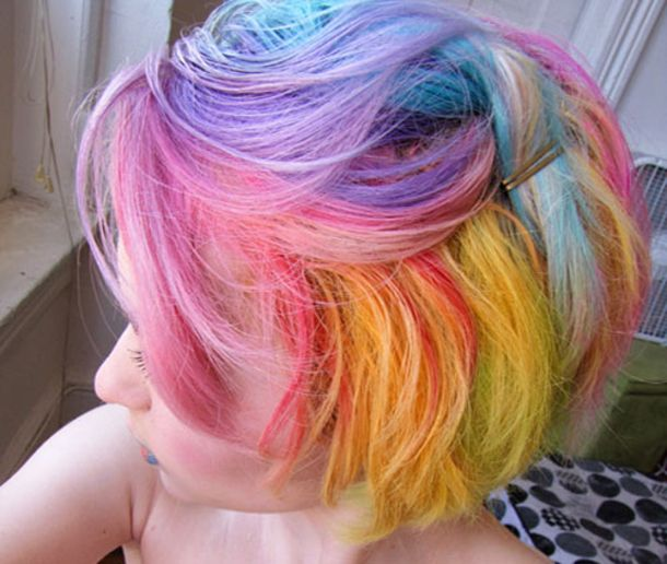50 Wild, Colorful and Wacky Hairstyles girly hair girl color colorful hair hair ideas hairstyles crazy hairstyles girls hair hairstyles for girls hair styles for women colorful hairstyles wild hairstyles wacky hairstyles
