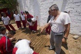 """Fomentan valores cívicos y respeto al medio ambiente entre alumnos de la primaria """"Leona Vicario"""""""