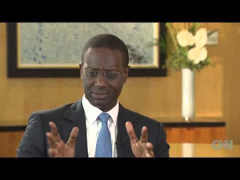 Tidjane Thiam: The African politician who conquered big business- CNN - YouTube