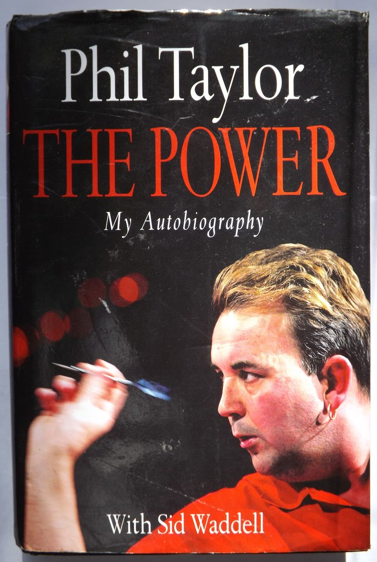 Phil Taylor's first book.