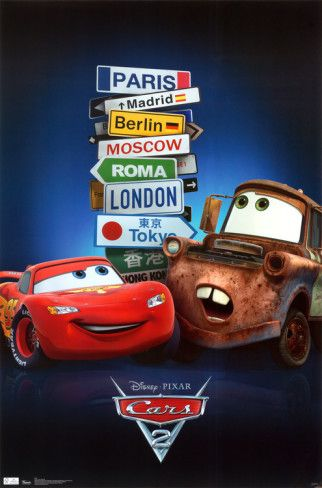Cars 2  ||  No Pixar film release this year means that I'll stop putting this off out of disdain.  Time to suck it up.