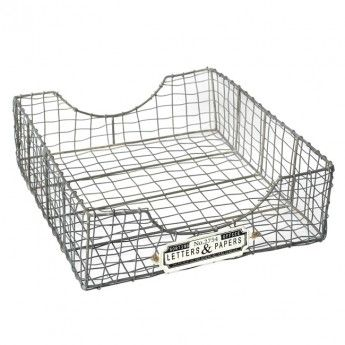 Letters & Papers Wire Sorting Basket