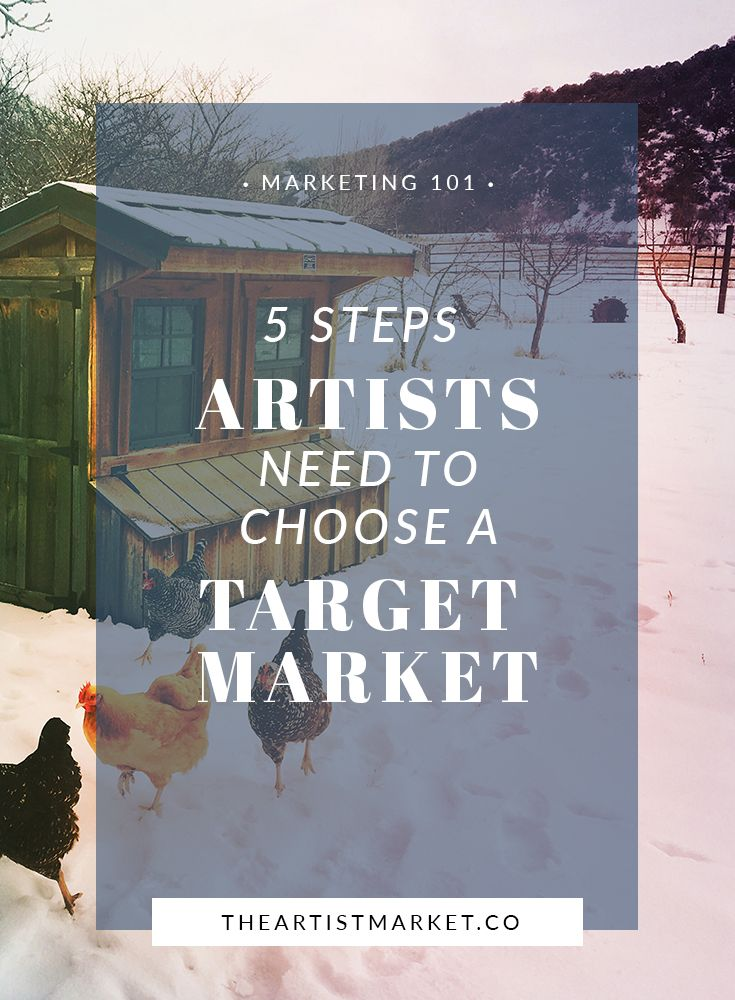 Artists can create more sales by choosing a smaller niche.