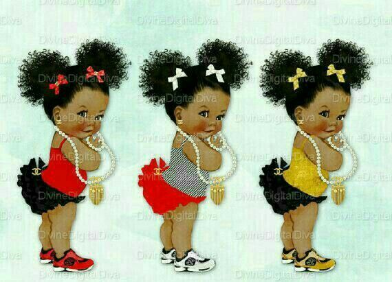 Pin By Skylina Servanie On Birthday Party Black Baby Art