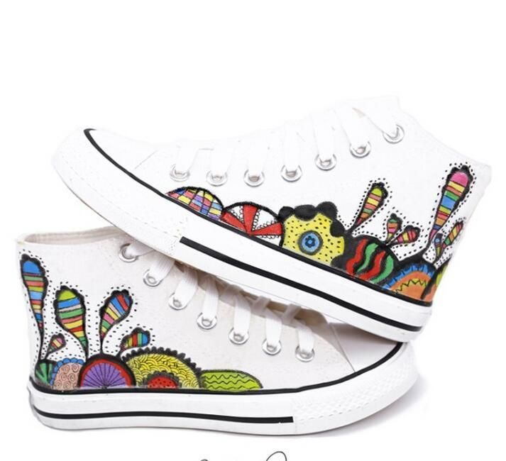 Sweet Womens Girls School Shoes Loafers Floral Flowers High Top Fashion Sneakers | Clothing, Shoes & Accessories, Women's Shoes, Flats & Oxfords | eBay!
