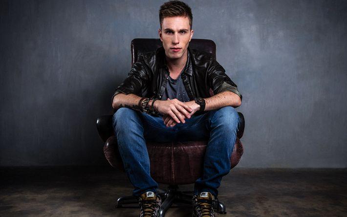 Download imagens Nicky Romero, Popular DJ, retrato, jovens artistas, a jovem estrela