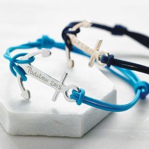 Personalised Anchor Bracelet - shop the christmas catalogue