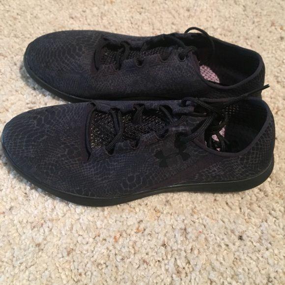 Brand New Under Armour Women's SpeedForm Studiolux Under Armour Speedform StudioLux Black Running Shoe Size 8.5 Under Armour Shoes Athletic Shoes