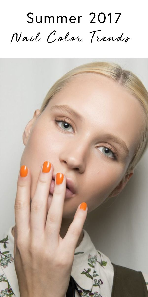 These are the most popular nail color trends for Summer 2017. Can you guess which manicure trends we're talking about ?