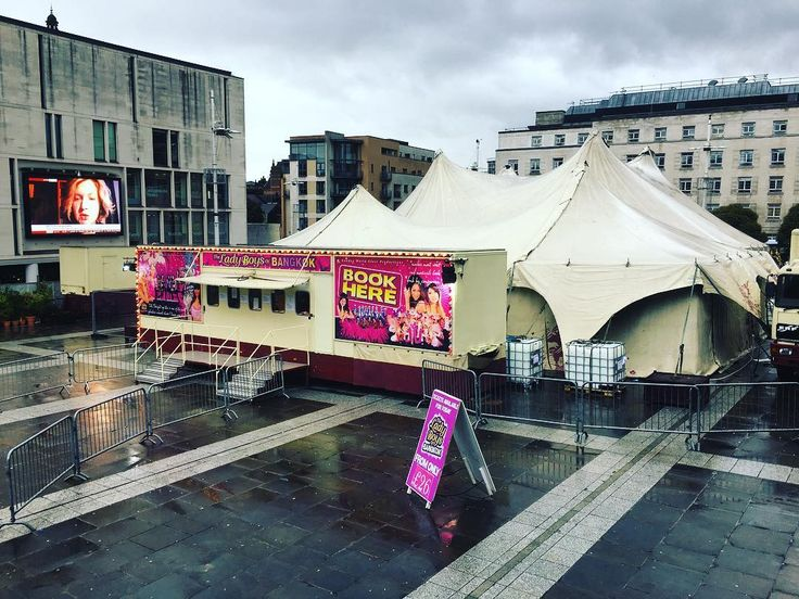 I had one of my regular walks around #Leeds this afternoon to take in and reflect upon the city's many #cultural offerings. I noticed the #marquee had gone up in Millennium Square for the #Ladyboys of #Bangkok who visit the city annually providing a superb #entertainment experience. #tent #ladyboy #show #event #venue #leisure #life #travel #tourism #tourist #culture #art #performance #show #IgersLeeds #Yorkshire  #Leeds2023