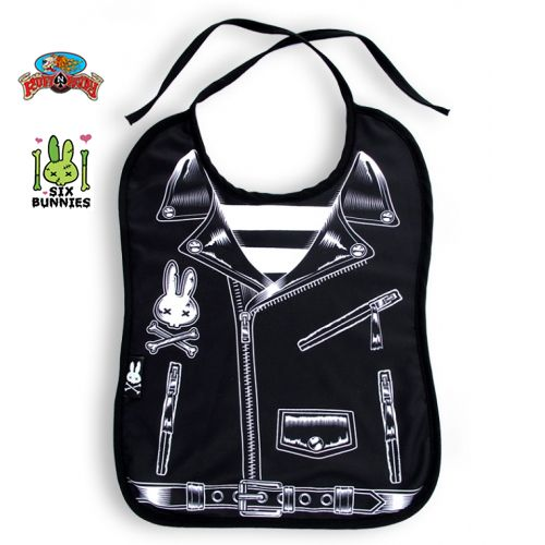Rocker Jacket Bib by Six Bunnies