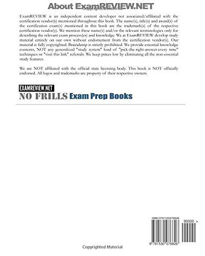 South Carolina Limited/Unlimited Building Contractor License Exams ExamFOCUS Study Notes & Review Questions 2016/17 Edition