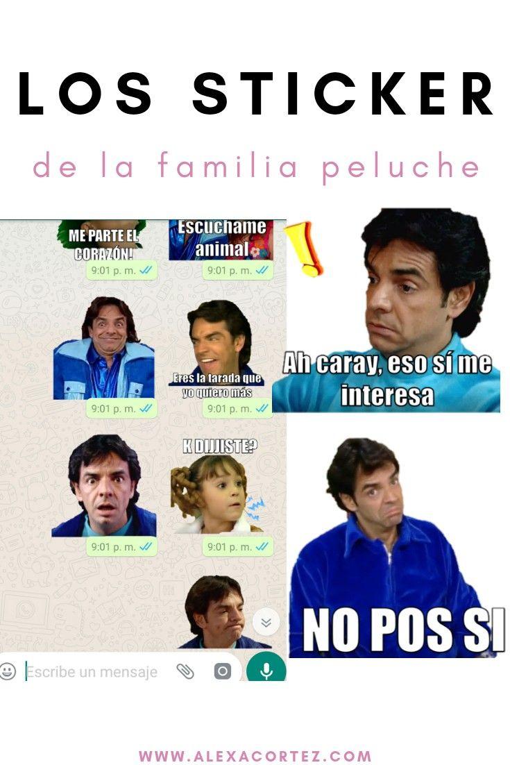Los Sticker De La Familia Peluche Familia Peluche Memes Familia Peluches