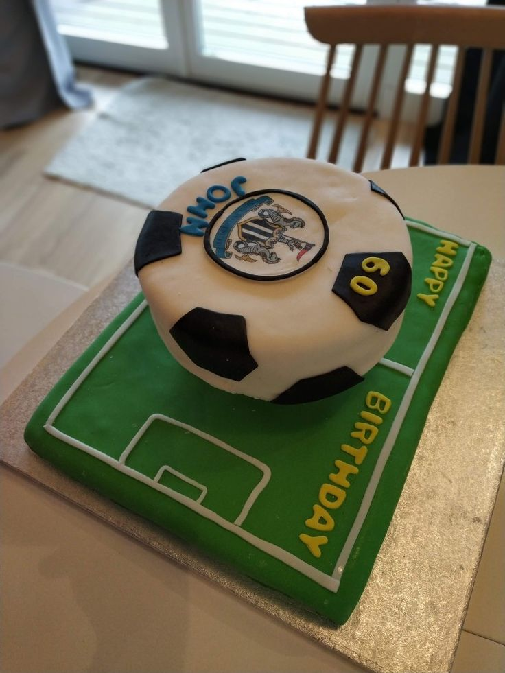 Football cake happy 60th birthday football cake 60th