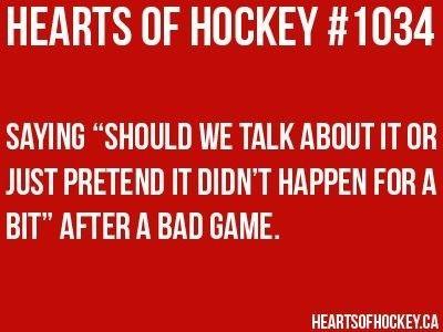 Hockey girlfriend
